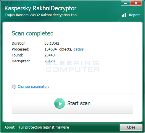 Decryption Completed