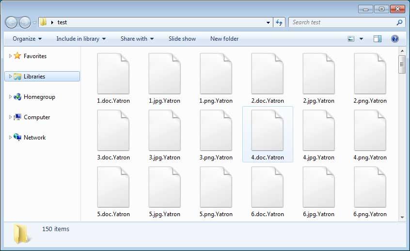 File crittografati Yatron