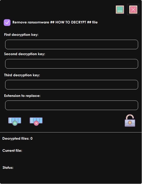 Ziggy ransomware decryptor