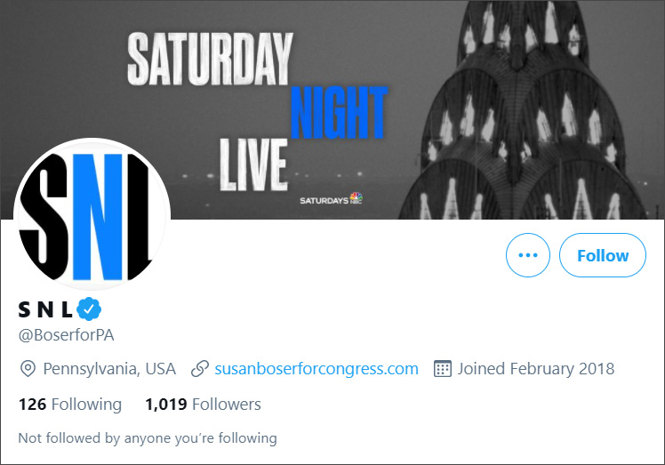 Hacked site impersonating SNL