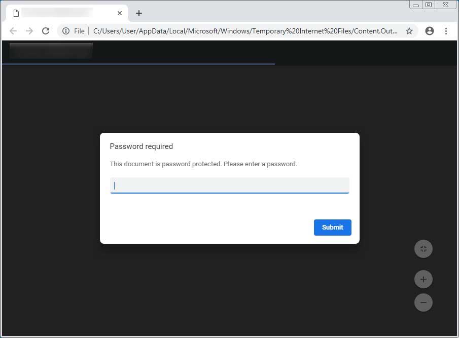 PDF Password Prompt
