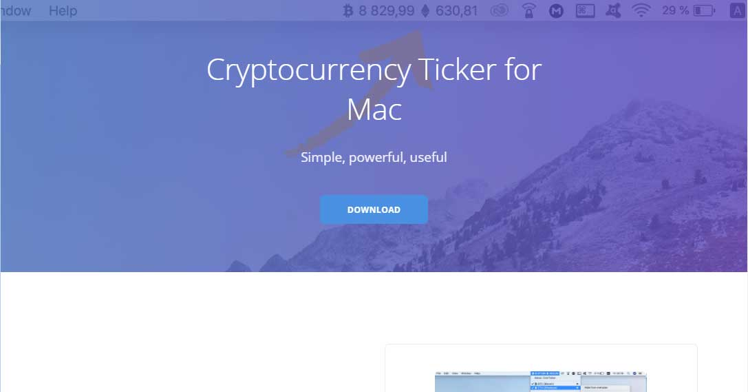CoinTicker Web Site