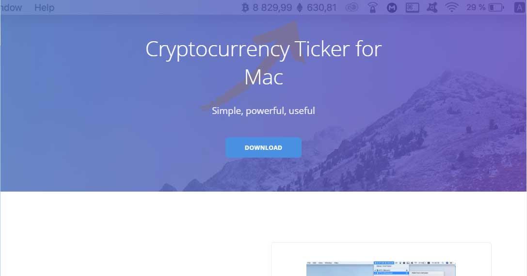 CoinTicker Web Site