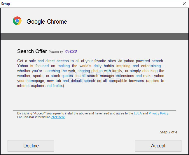 Search Manager Offer