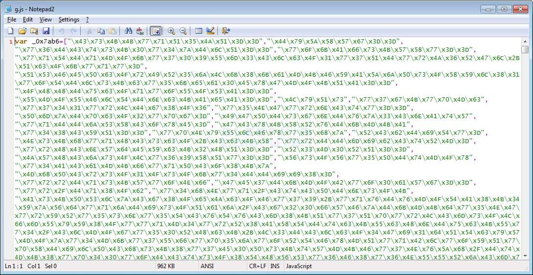 G.js File