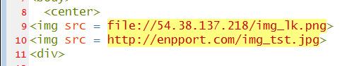 Cargando una imagen remota usando el archivo: // URL