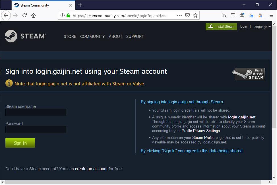 Steam Accounts Being Stolen Through Elaborate Free Game Scam