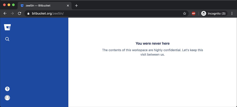Private Bitbucket repository