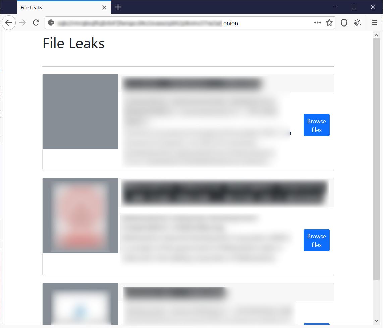 File Leaks marketplace