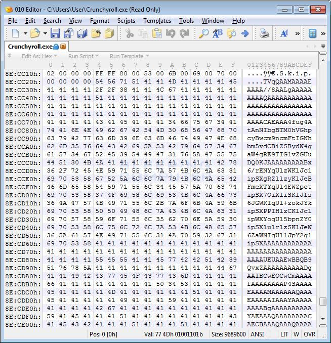 ملف التشفير Base64 المضمنة