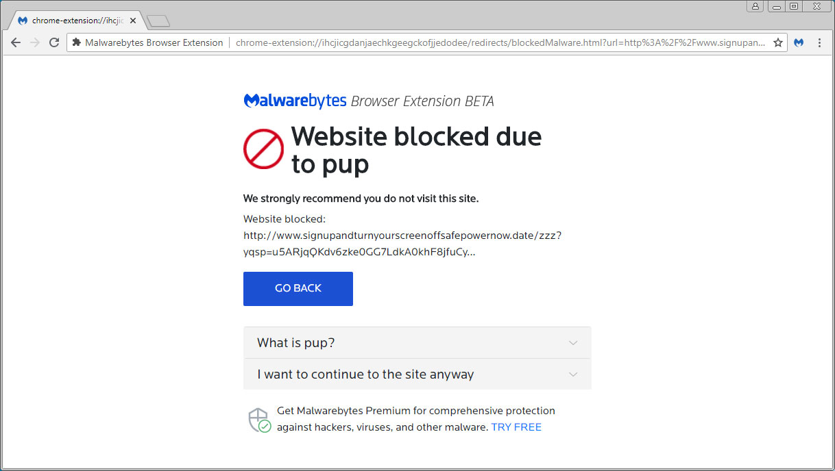 Malwarebytes Browser Extension Blocks Malware, Scams, Ads, & Trackers