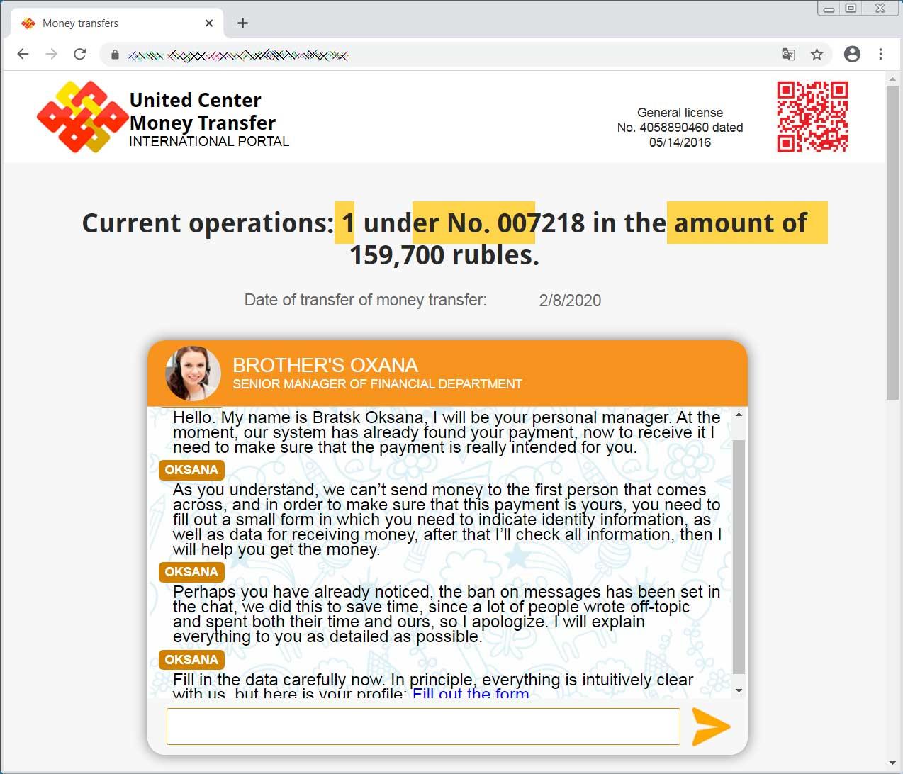 Support Represenative guiding you through phishing scam