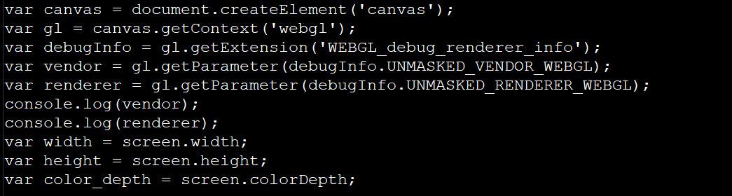 使用API获取渲染器和屏幕信息