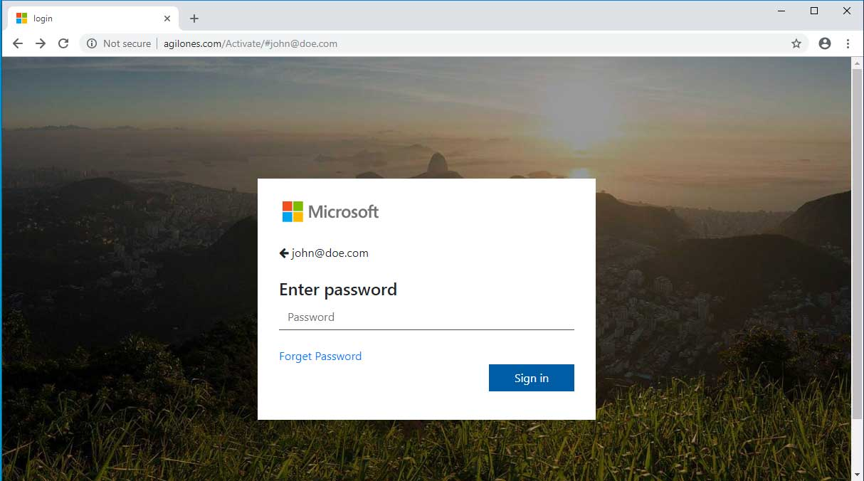 Phishing Attack Pretends to be a Office 365 Non-Delivery Email