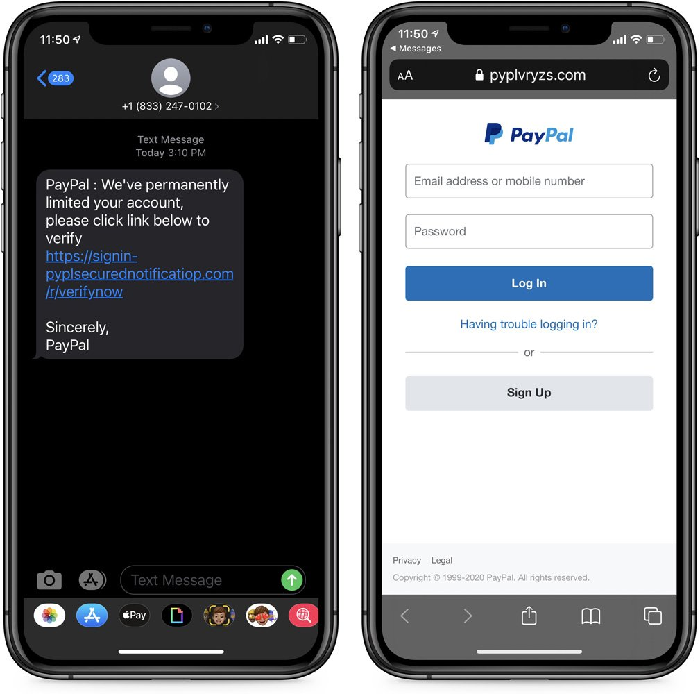 New phishing campaign targets Paypal users!