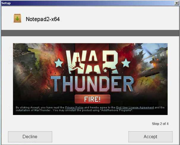 War Thunder game offer