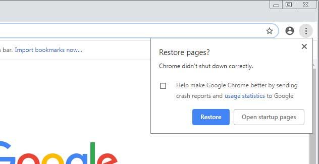 重新打开Chrome