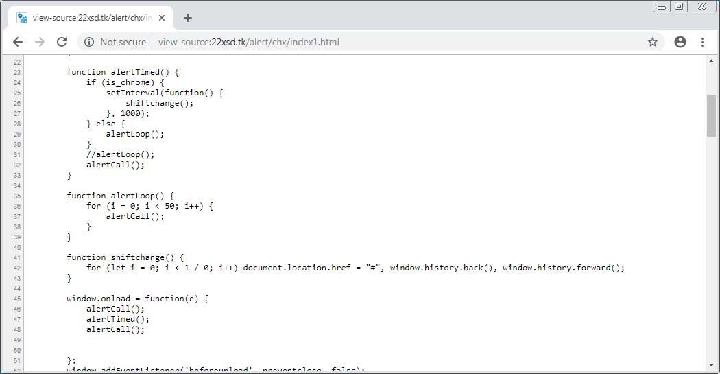 Javascript 循环