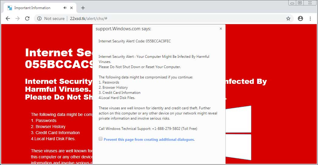New Tech Support Scam Causes Chrome Browser to Use 100% of