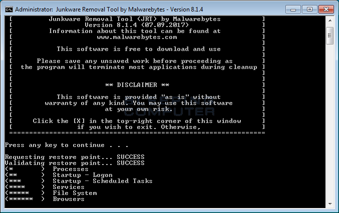 Malwarebytes Retires Popular Junkware Removal Tool Adware Cleanup