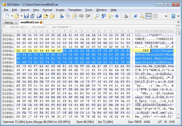 Malspam Exploits WinRAR ACE Vulnerability to Install a Backdoor