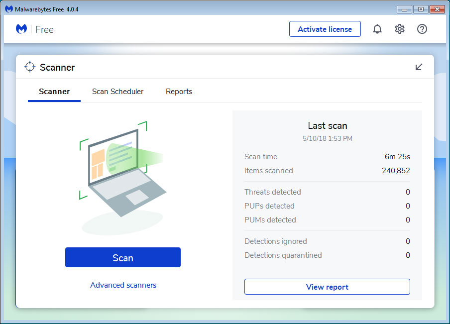 Malwarebytes 4 0 Released With New UI and Scanning Engine