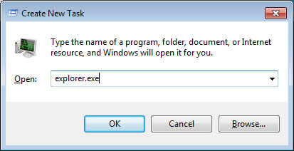 Create New Task Dialog