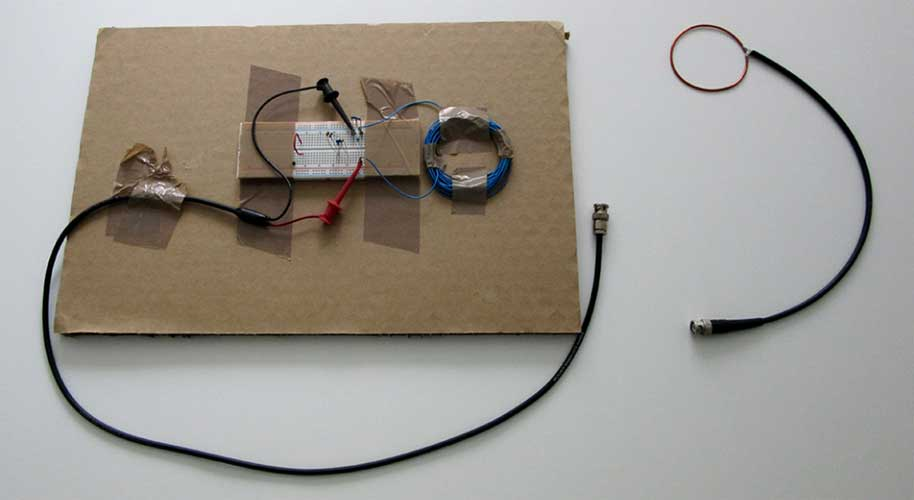Cheap antenna used by researchers