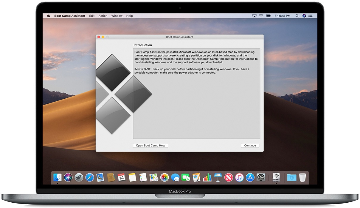 Apple MacBook Boot Camp