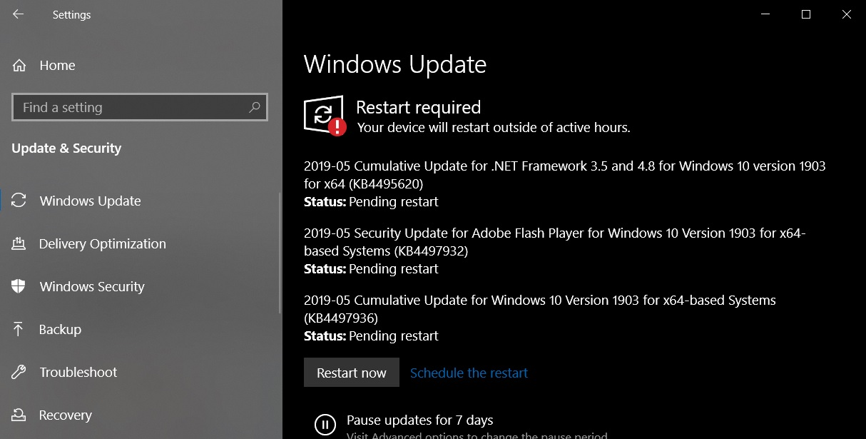 Windows 10 May 2019 Cumulative Updates Released With Fixes