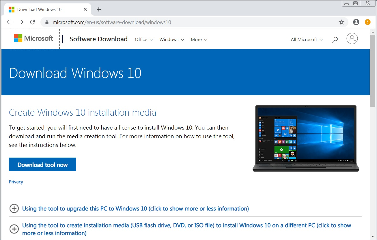 windows 10 update free download full version