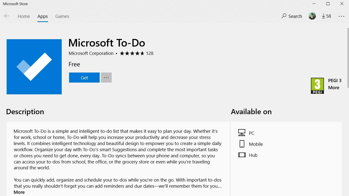 microsoft to do list