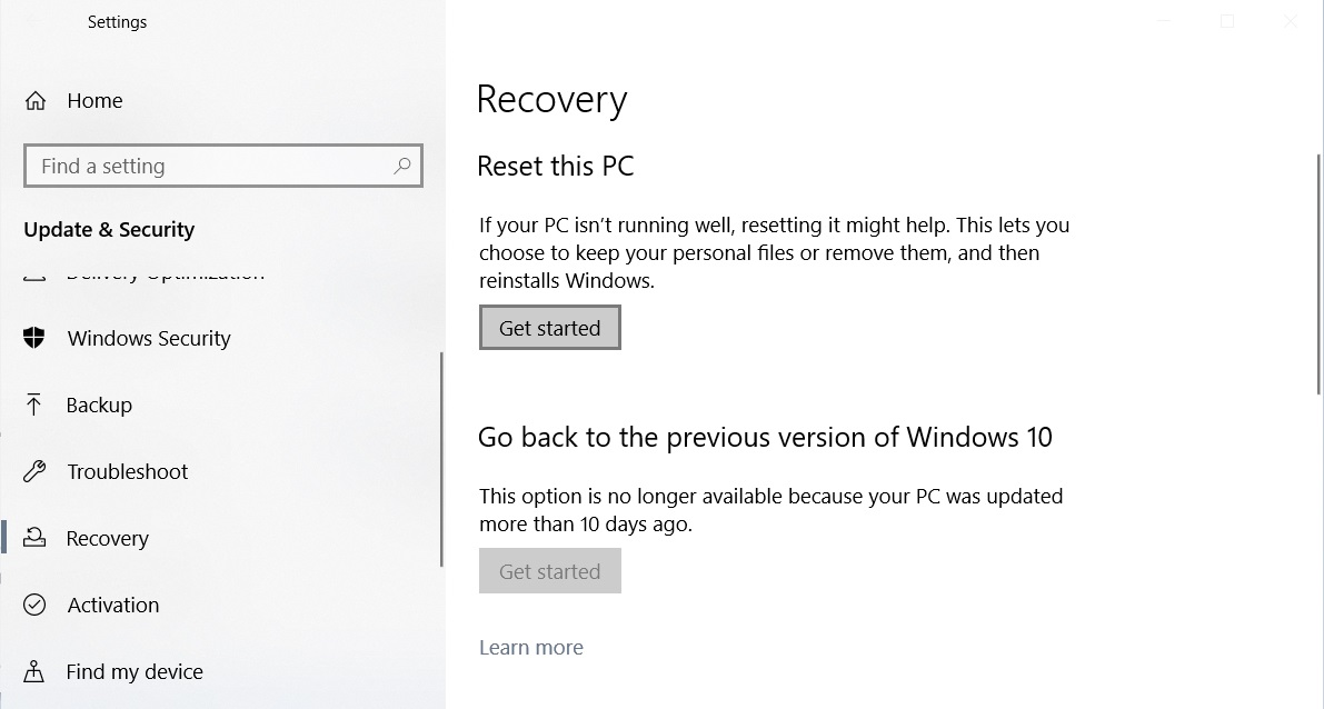 Windows 10 Gets a Cloud Reset Feature, Here's How it Works