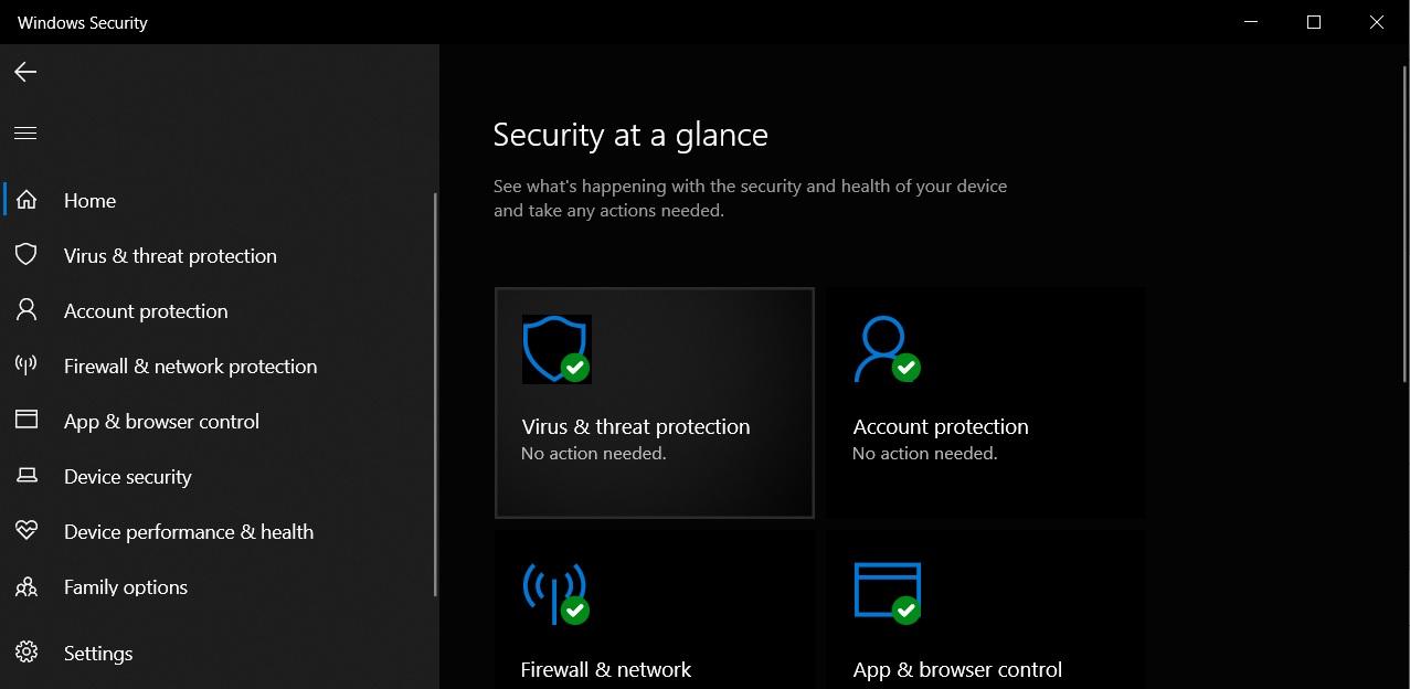 Security app
