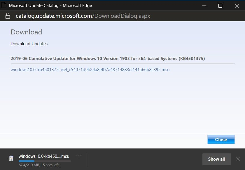 How to Manually Install Windows 10 Cumulative Updates