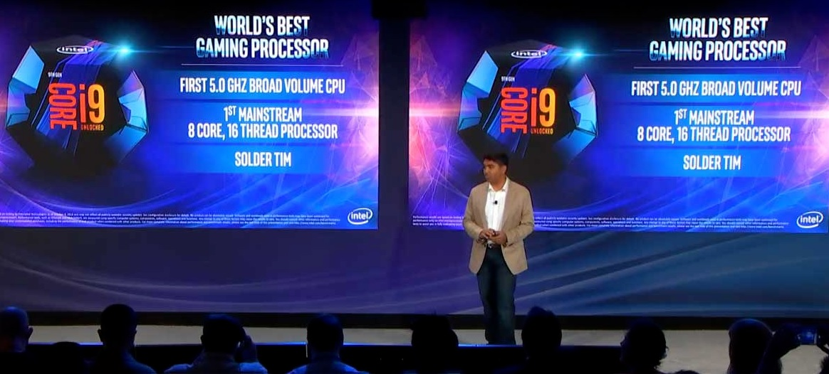 Intel's 9th-Generation Core Processors Unveiled