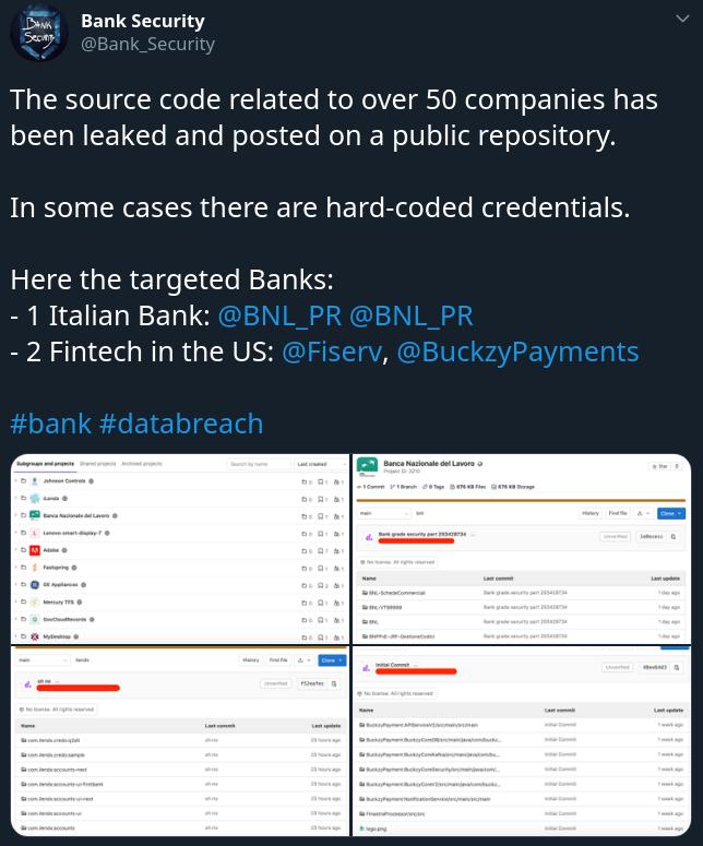 BankSecurity Src Leak creds