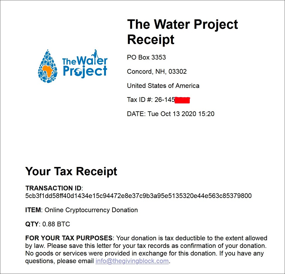 Letter Of Proof Of Giving Money from www.bleepstatic.com