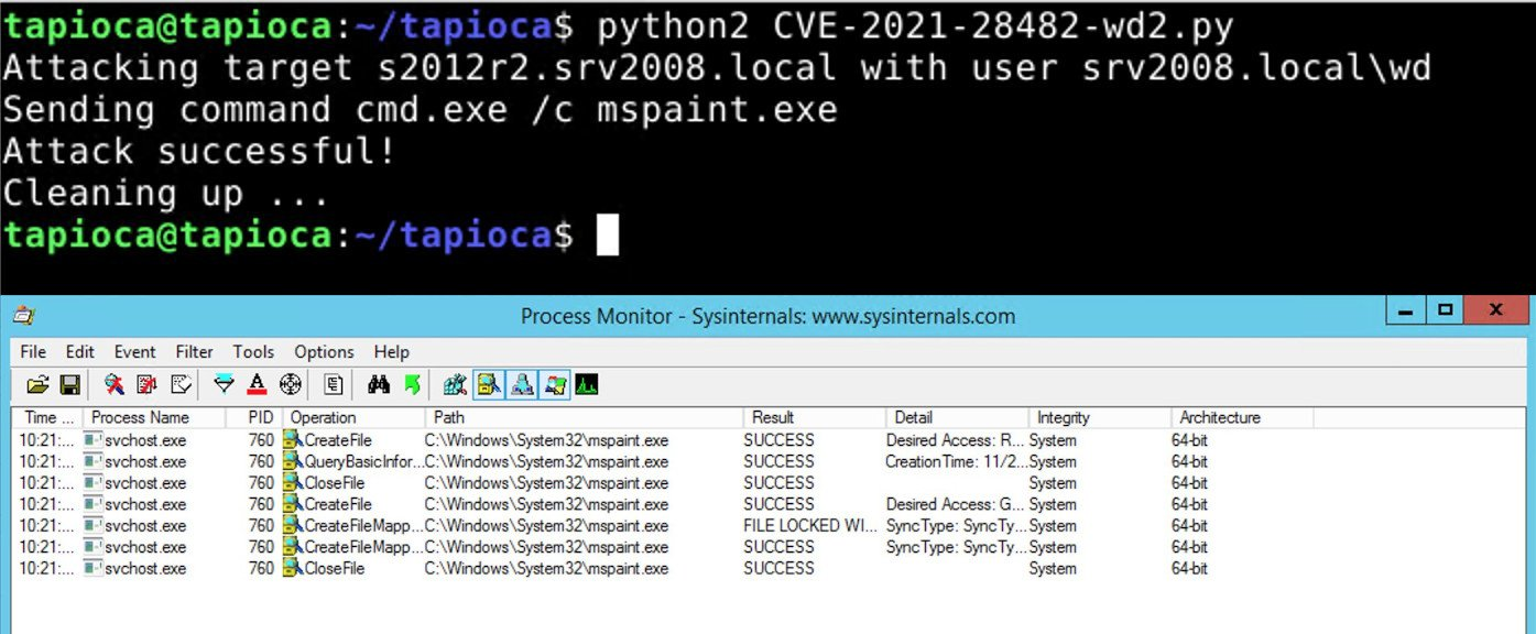 CVE-2021-28482 exploit code test
