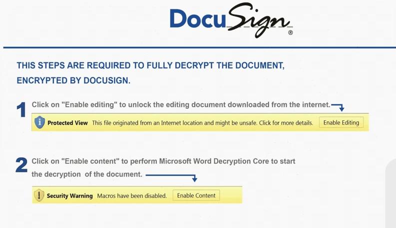Malicious document delivered through Prometheus TDS