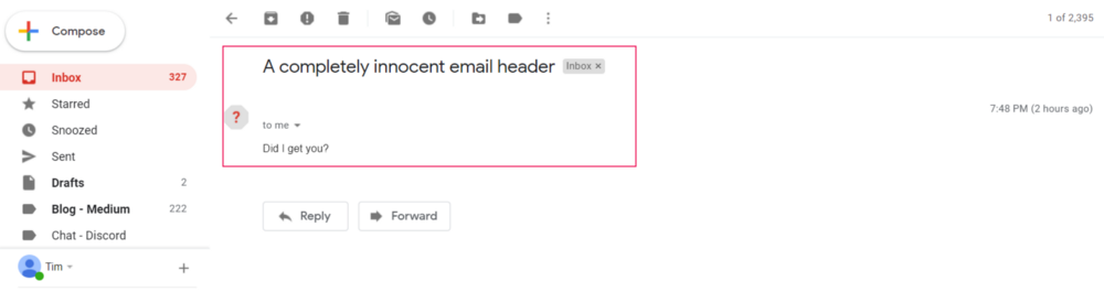 New Gmail Bug Allows Sending Messages Anonymously