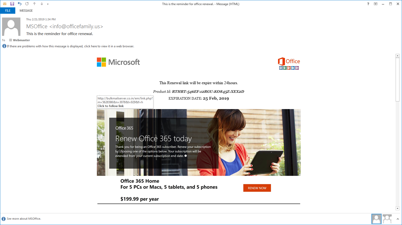 microsoft office 365 home support