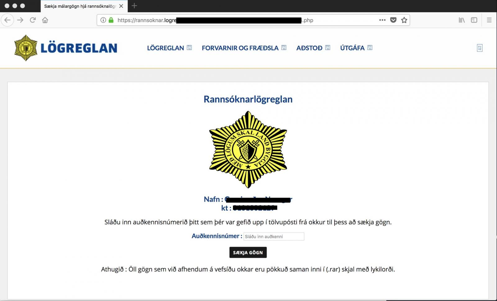 Largest Cyber Attack Against Iceland Driven by Complex