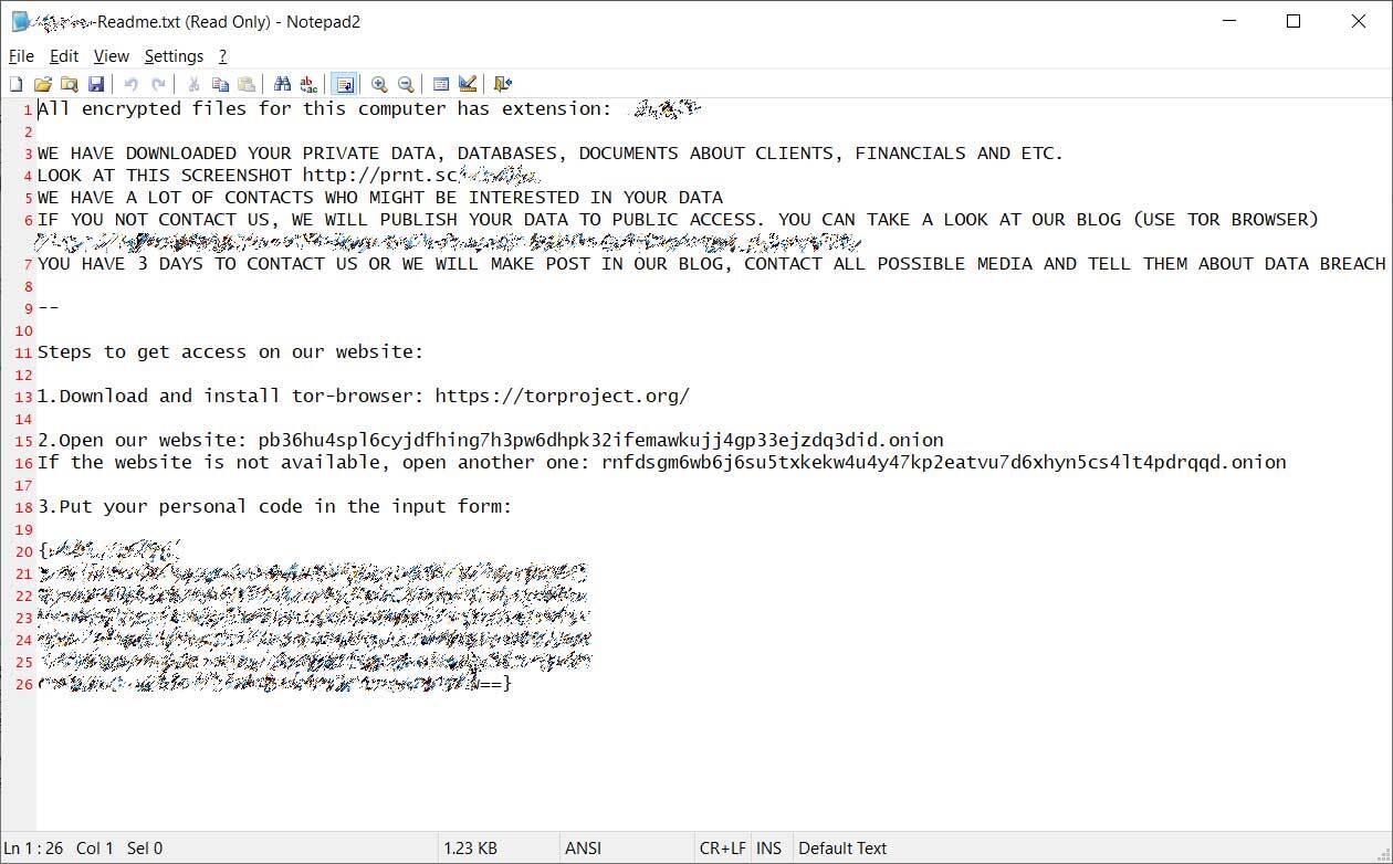 ransomware NetWalker Enel Group