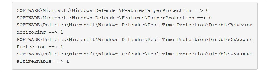 Attempting to turn off Windows Defender